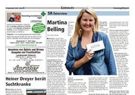 Sonntags Report – 08.09.2013