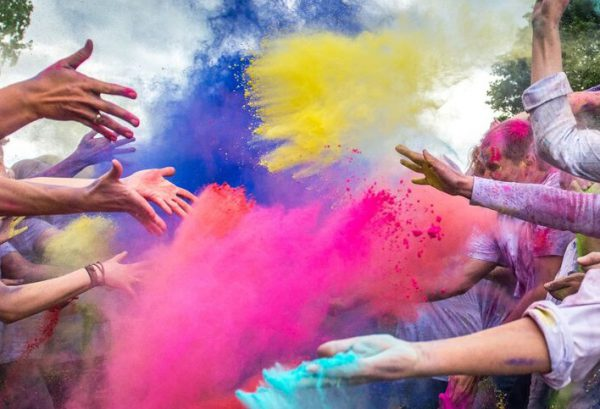 Farbe ins Leben bringen